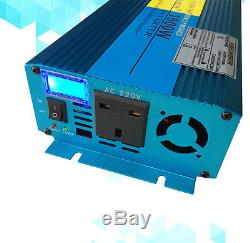 1500w 3000w Convertisseur De Caravane Onduleur Onde Sinusoïdale Pure DC 12v À Ac 240v Ru
