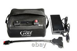 18/27 Trou Lithium Golf Battery Pack Pour Powakaddy, Hill Billy Et Motocaddy