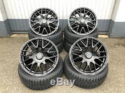 18 Zoll Meisterwerk Mw07 Alu Felgen 5x112 Pour Mercedes Audi Seat Seat Vw Amg