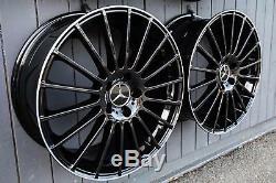 19 Zoll V4 Felgen Für Mercedes Cla E Klasse W212 W213 C117 Glc X253 A45 Amg