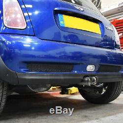 2.5 Retour Inoxydable Cat Race Système D'échappement Pour Bmw Mini Cooper S R53 1.6 02-06
