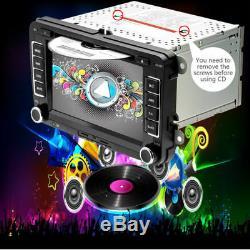 2din 7 Gps Navi CD Autoradio DVD Fm Für Vw Golf Passat B6 3c Touran Skoda Seat