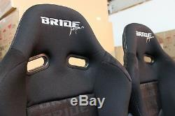 2x Bride Seat Stradia Lowmax, Noir En Fibre De Verre Bride Japon Adr