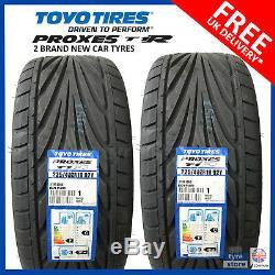 2x New 225 40 18 Proxes Toyo T1-r 92y XL 225 / 40r18 2254018 (2 Pneus)