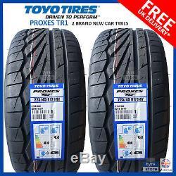 2x New 225 45 17 Toyo Proxes Tr1 94y XL 225 / 45r17 2254517 B Wet Grip (2 Pneus)
