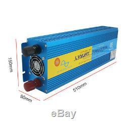3000with6000w Onduleur À Onde Sinusoïdale Pure DC 12v À 230v Ac Caravan Converter