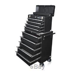 335 Us Pro Tools Noir Outil Abordable Coffre Rollcab Boîte En Acier Roller Cabinet