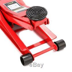 3 Ton 70mm Ultra Low Profile D'entrée Chariot Jack High Lift Garage Pour Véhicules