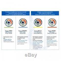 3s Kältemittel R134a 900 G Gaz Kit De Bricolage Pour Kfz Avec Manomètre Pour Diagnostic