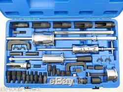 40pc Dissolvant Extracteur D'injecteur Diesel Master Tool Kit Bosch Denso Siemens Delphi