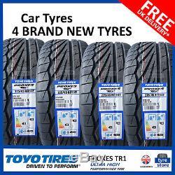 4x New 225 45 17 Toyo Proxes Tr1 94y XL 225 / 45r17 2254517 B Wet Grip (4 Pneus)
