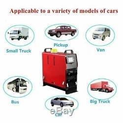 5000w 12v Air Diesel Chauffe 5kw 4 Trous Moniteur LCD Planes Camions Bateaux Bus Voitures