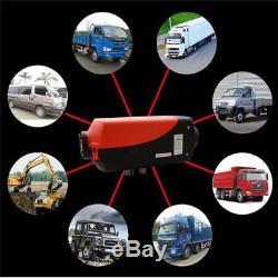 5000w Planaire De Chauffage Diesel Aérien D'air De 5kw 12v Pour Des Camions / Camping-cars / Bateaux / Autobus Ru