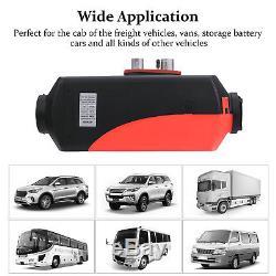 5000w Planaire De Chauffage Diesel D'air D'air De 5kw 12v Pour Des Bateaux De Motor-homes De Camions Avecremote
