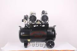 50 Litres Silent Air Compressor Oil Free Low Noise 50l Dirty Pro Tools Rrp £349