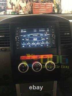 6.2 Voiture DVD Gps De Navigation Chef Stéréo Pour Nissan Navara 2007-2015 D40