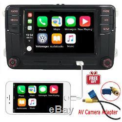 6,5 Vw Autoradio Mib2 Rcd330 + Carplay Mirrolink Rvc Usb Sd Bluetooth Avec Rcd510