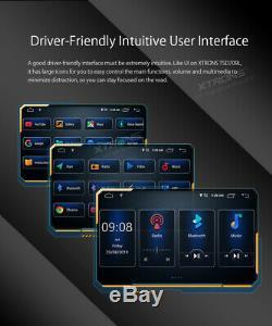 7 Android 9.0 Double Din Dsp Car Radio Stéréo Gps Head Unit Sat Nav Wifi Dab +