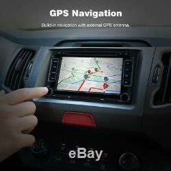 7 Autoradio Gps Navigateur Sat DVD Mp5 Player Pour Vw Golf Mk5 Mk6 Jetta Passat