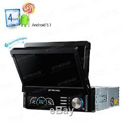 7 Gps Simple Voiture Android 5.1 Gps Sat Nav Head Unit Radio Stéréo Bluetooth Dab +