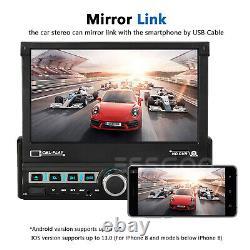 7 Single 1 Din Car Radio Stereo Mp5 Player Gps Sat Nav Aux Usb Bluetooth+camera