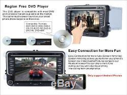 7 Vw Passat Golf Transporter T5 Stéréo Dab Radio DVD Gps Gps Sat Nav Bluetooth