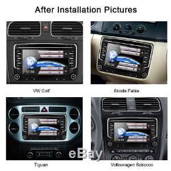7 Vw Radio Passat Transporter T5 Golf Mk5 Mk6 Radio Stéréo De Voiture DVD Sat Nav Gps