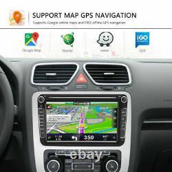 8'' Android 8.1 Car Radio Gps Sat Nav Stereo Bluetooth Pour Vw Golf Mk5 Mk6 Jetta