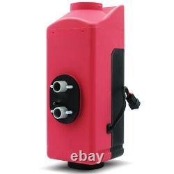 8kw 12v Diesel Night Air Heater Silencer Affichage LCD Camions De Voiture Bateaux Caravane