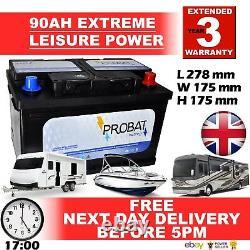 90ah 80 85 90 Ah 12 Volts Batterie De Loisirs Haute Spec Batterie Branded 90ah True Ah