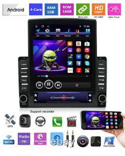 9.7dans Écran Vertical 2din Voiture Stereo Radio Android 9.1 Unité De Tête Gps Navi 1+16g