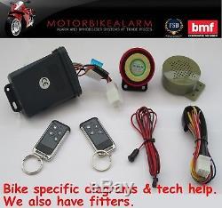 Alarme Et Antidémarrage De Moto Ncs C-11 Moto Parlant