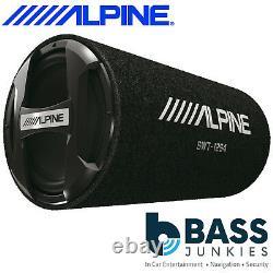 Alpine Swt-12s4 1000 Watts Passive 12 30cm Sub-woofer Box Car Bass Tube