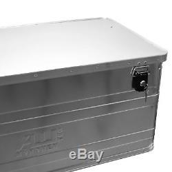 Alukiste Alubox Lagerbox Lagerkiste 140 Litre 90 CM Boîte True Kiste Mit Deckel