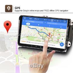 Android 7.1.2 Autoradio 9 Gps Navi Dab + Canbus Pour Siège Skoda Passat B6 B7 Eos