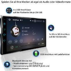 Android Autoradio Mit Navigation Navi Bluetooth 2 Din Doppel Mp3 3g Dab Tristan