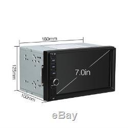 Androïde 7.1 Double Din 7 Stéréo Lecteur Gps Sat Nav Dab + Obd2 Wifi 4g Radio