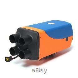 Appareil De Chauffage Diesel D'air De 8000w LCD 8kw 12v Planaire Pour Camions / Camping-cars / Bateaux / Bus Nn