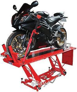 Ascenseur De Banc De Table D'atelier De Garage De Mécaniciens De Motos Hydrauliques Hydrauliques Résistantes