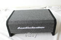 Audiobahn 10 1200w Voiture Camion Shallow Slim Loaded Boom Box Basse Audio Subwoofer