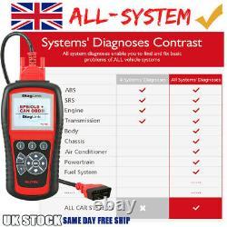 Autel Elite Diaglink Eobd2 Diagnostic Scanner All System Auto Car Code Reader Royaume-uni