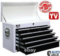 Autojack Metal Roll Cab 9 Tiroir Haut De Boîte D'outils Cabinet De Stockage Verrouillable Rollcab