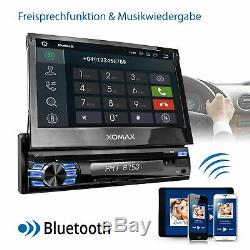 Autoradio Avec Android 8.1 2go Ram Navi DVD Bluetooth Wifi 3g Dab + Obd2 1din