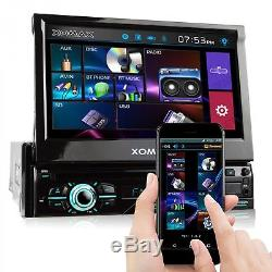 Autoradio Mit Android App-steuerung DVD CD Usb Sd Bluetooth Mp3 Mpeg-4 Aux 1din