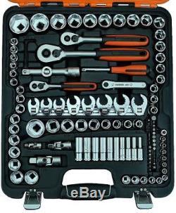 Bahco S138 Trousse D'outils Pour Jeu De Tournevis À Tête Plate Crowfoot 1/4, 3/8 & 1/2