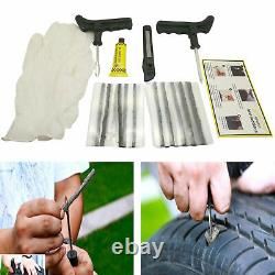 Bandes D'outils De Réparation De Pneus Tubeless Tyre De Voiture De Voiture D'urgence