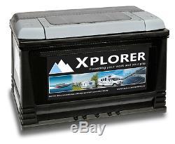 Batterie De Loisir Pour Caravane Robuste 12 Ah Xplorer Scellée 130 Ah