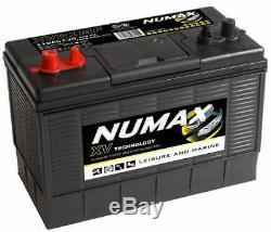 Batterie Marine Profonde De Loisirs De Cycle De Numax Xv31mf De 12v 105ah 3 Ans Wrnty