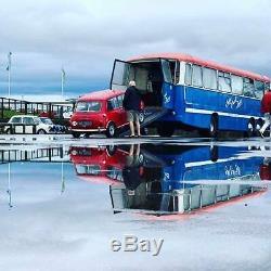 Bedford Val Bus D'emploi Italien Mini Collector Entreprise Commerciale Classique De Doormobile