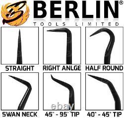 Berlin Long Reach Pick And Hook Tool Set O Bague Seal Hose Removal Pulper Set Hd